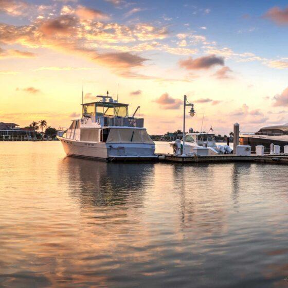 Amazing Marina Sunsets in Keywest